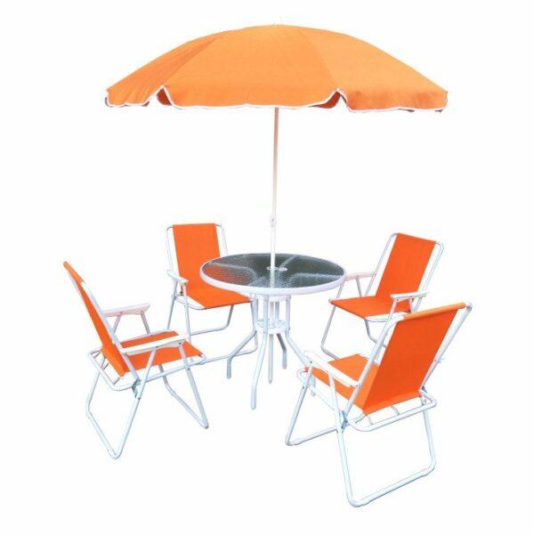 Kvalitné záhradné sedenie    Záhradný set ODELO - 4 stoličky