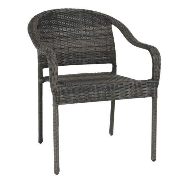Záhradné stoličky a kreslá   Materiál: umelý ratan/kov
