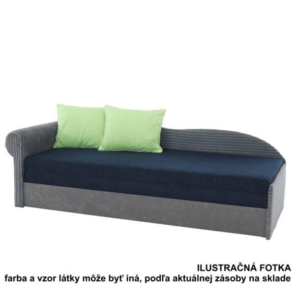 Kvalitné a moderné pohovky  | Rozkladacia pohovka AGA D s úložným priestorom. Ĺavé prevedenie.