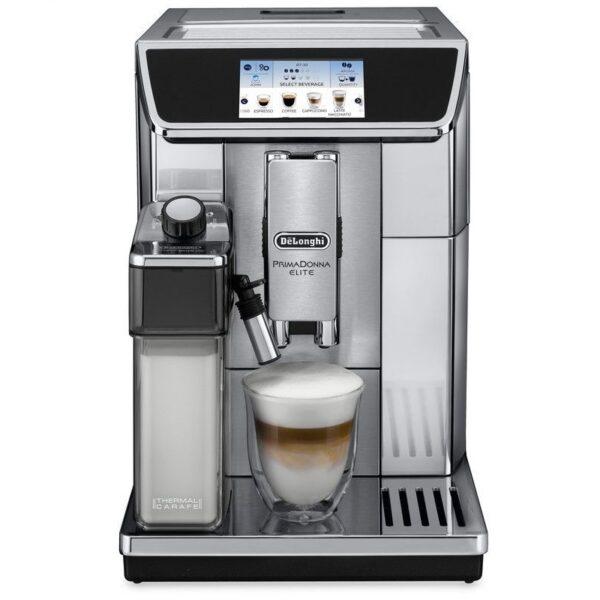 Značkový kávovar DeLonghi  | PLNOAUTOMATICKÝ KÁVOVAR .  Rozmery (šxhxv cm): 26x48x37