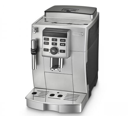 Značkový kávovar DeLonghi  | AUTOMATICKÝ KÁVOVAR.  Kompaktný kávovar s možnosťou nastavenia kávy podľa vašej chuti. Kávovar má trysku na mlieko