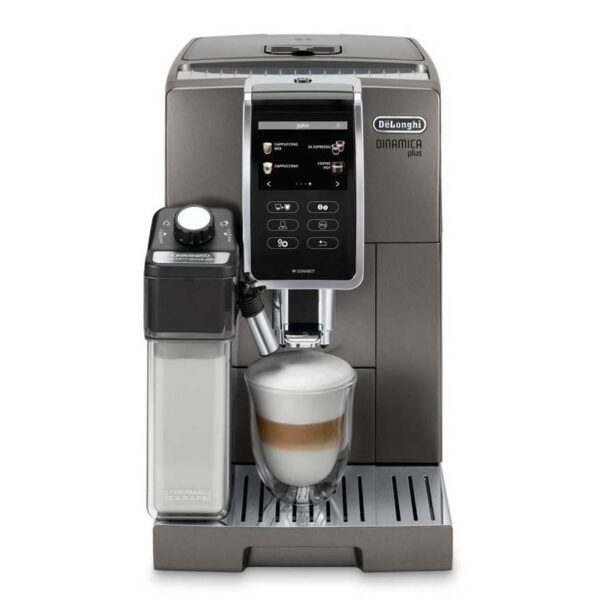 Značkový kávovar DeLonghi    PLNOAUTOMATICKÝ KÁVOVAR.  Teplá voda v priebehu chvíľky. S funkciou horúcej vody počas chvíľky pripravíte tiež lahodný čaj. Prístroj je vybavený aj praktickou funkciou nahrievania šálok. Nápoj si dlhšie udrží stabilnú teplotu a