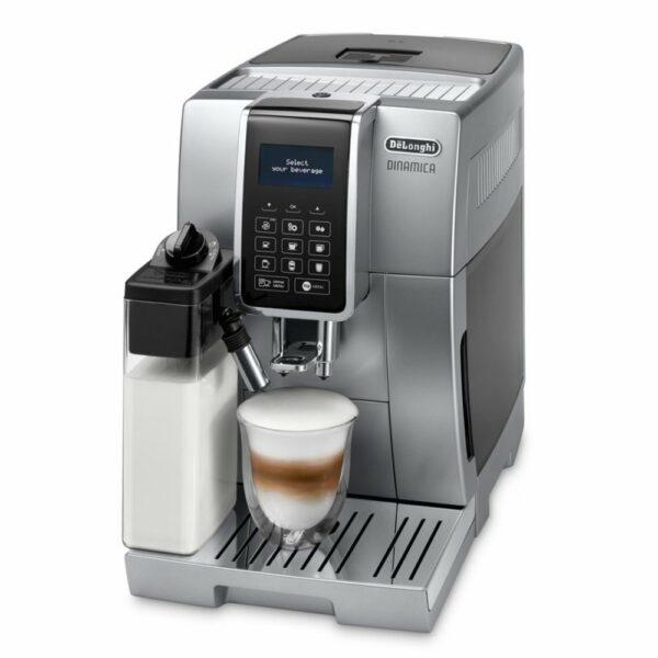 """Značkový kávovar DeLonghi    PLNOAUTOMATICKÝ KÁVOVAR.  Systém LatteCrema.  De´Longhi """"LatteCrema"""" systém pre skutočný mix potešenia. Pripraví hustú a krémovú"""