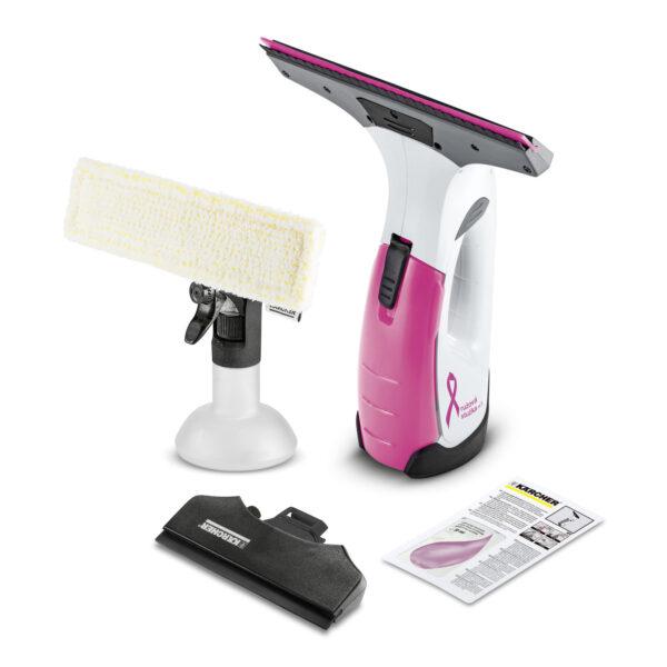 Kärcher čistič okien    Upratujte moderne   Kärcher - WV 2 Premium Ružová stužka