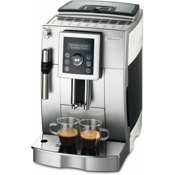 Značkový kávovar DeLonghi    DeLonghi ECAM 23.420.SW. Farba: strieborná