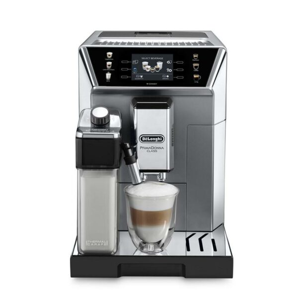 Značkový kávovar DeLonghi  | PLNOAUTOMATICKÝ KÁVOVAR .  Prémiový a intuitívny3