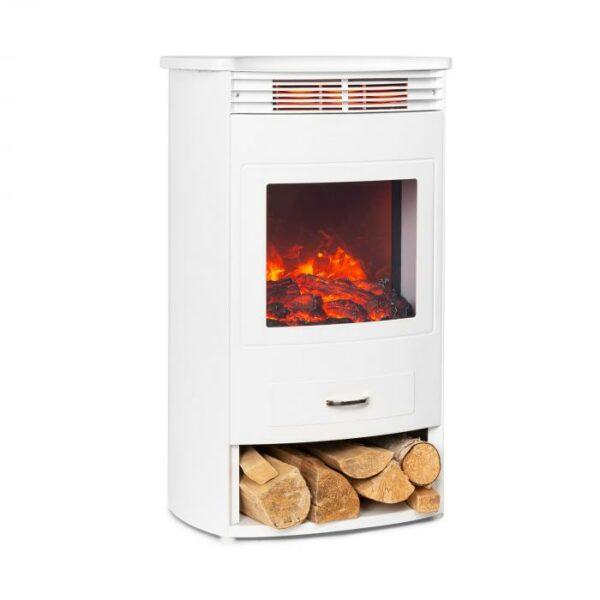 ktoré okamžite šíri teplo a pracuje s voliteľným výkonom 950 alebo 1900 W. Vstavaný termostat meria aktuálnu teplotu v miestnosti