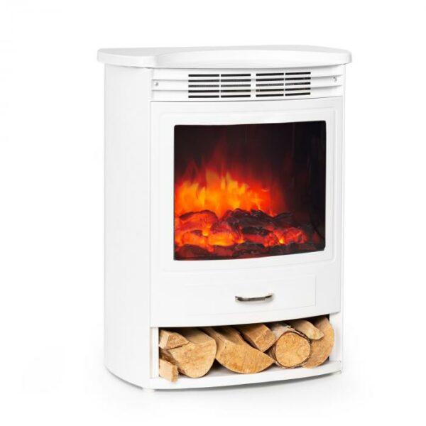 ktoré okamžite šíri teplo a pracuje s voliteľným výkonom 950 alebo 1900 W. Zabudovaný termostat meria aktuálnu teplotu v miestnosti a automaticky prispôsobuje vykurovací výkon. Detekcia otvoreného okna Open Window Detection šetrí zbytočné náklady rozpoznaním prudkého poklesu teploty a automatickým vypnutím krbu. S nastaviteľným týždenným časovačom je možné naprogramovať nezávislé časy vykurovania na každý deň v týždni