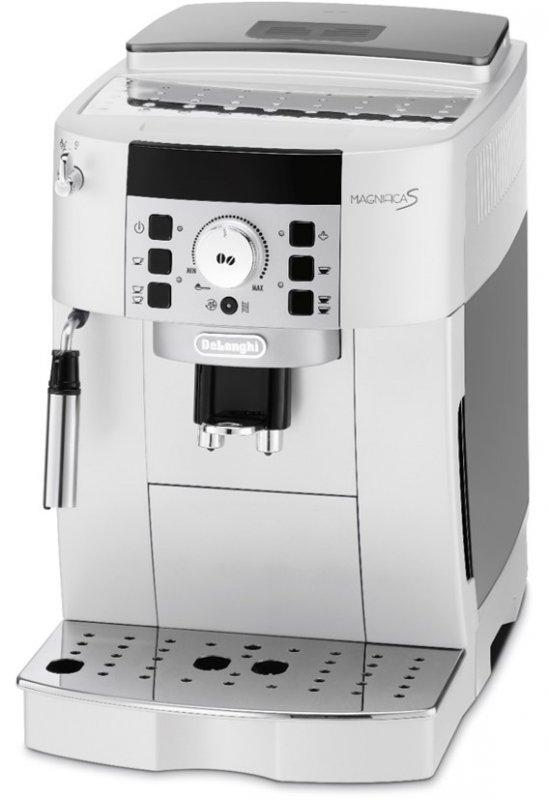 Značkový kávovar DeLonghi  | KÁVOVAR .  Vzhľadu kávovaru dominuje intuitívny ovládací panel s tlačidlami a ikonami. Kávovar má zabudovaný 13 stupňový