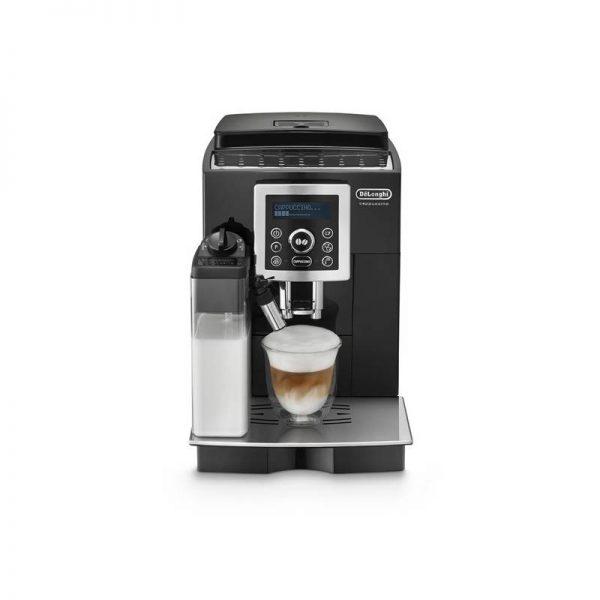Značkový kávovar DeLonghi    DeLonghi ECAM 23.460.B. Dizajn skrine: voľne stojace