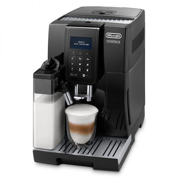Značkový kávovar DeLonghi    AUTOMATICKÝ KÁVOVAR .  Automatický kávovar Delonghi ECAM353.75.B Dinamicavám počas chvíľky pripraví kávu