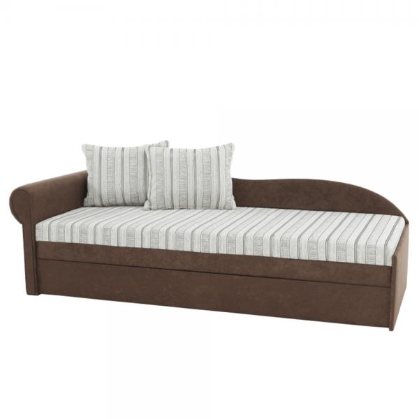 Kvalitné a moderné pohovky    Rozkladacia pohovka s úložným priestorom AGA D