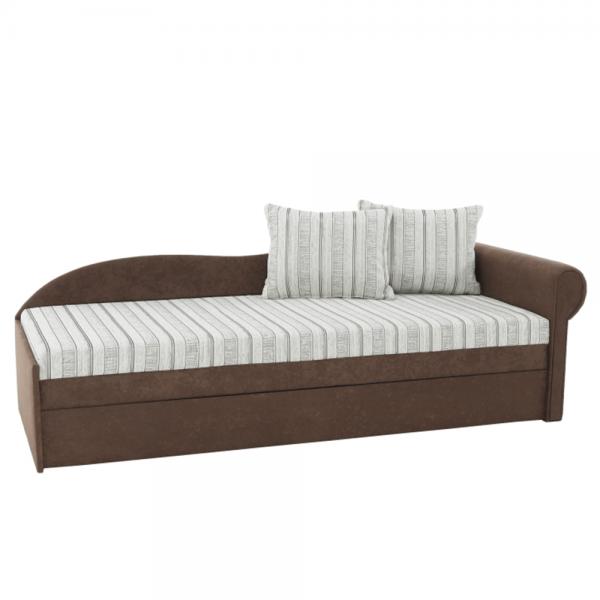 Kvalitné a moderné pohovky  | Rozkladacia pohovka s úložným priestorom AGA D