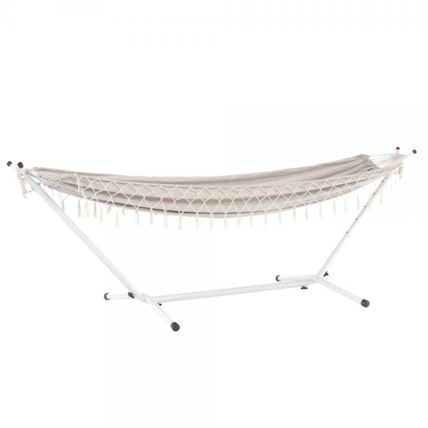 Kvalitné záhradné sedenie  | Materiál: 50% bavlna/50% polyester/oceľ