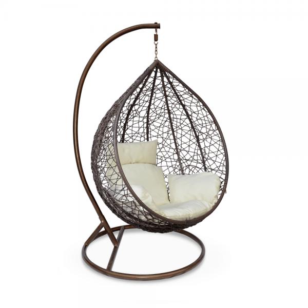 Kvalitné záhradné sedenie  | Materiál: látka/kov/umelý ratan